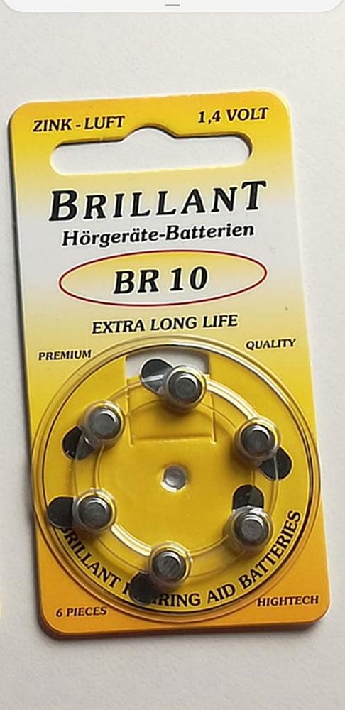 Batterien Brillant