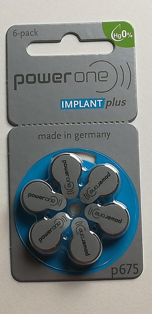 Implant Batterien
